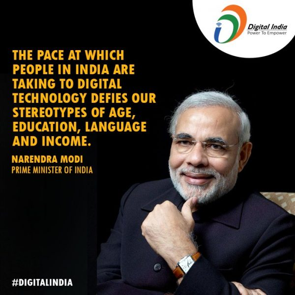 Digital India - modi government