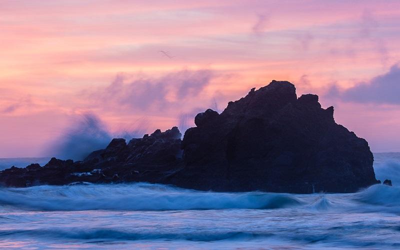 Pfeiffer Beach Sunset Big Sur California