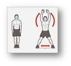 jumping jack exercise