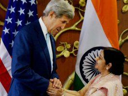john kerry sushma swaraj