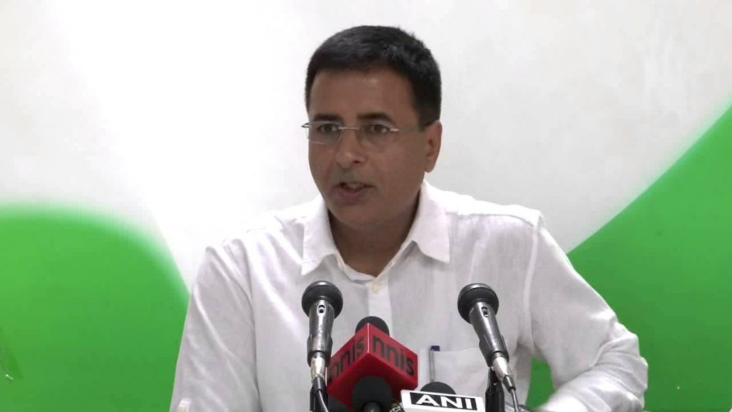 Surjewala - Parrikar Should Apologize - Congress