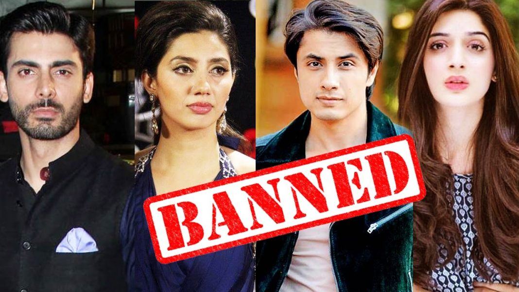 pakistani artists banned
