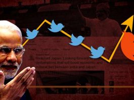 modi's twitter followers