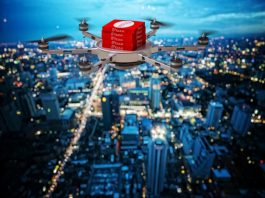 drones to deliver hot food