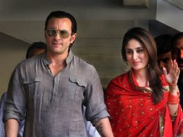 Kareena Kapoor Saif Ali Khan and Taimur Ali Khan Pataudi