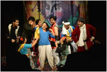 Entertain with Theatrical arts
