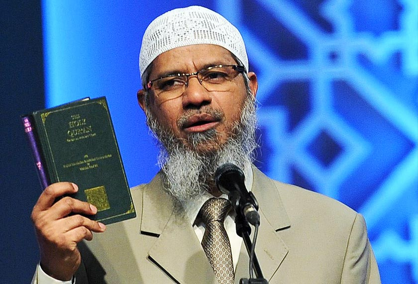 Zakir Naik Saudi Nationality