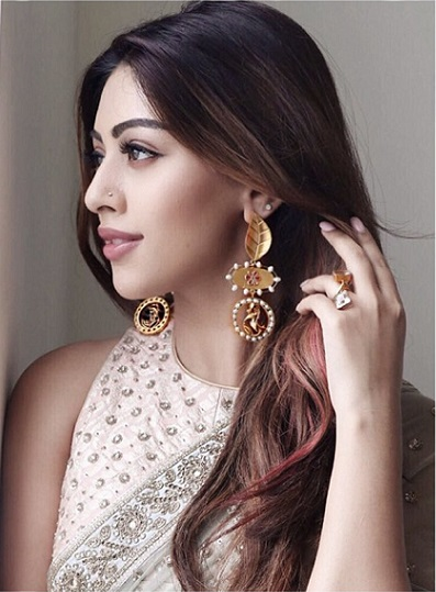 Suhani Pittie's Indian Jewellery - Earrings worn by Any Emmanuel
