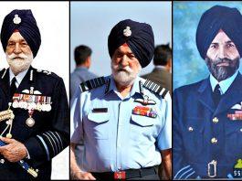 Marshal of Indian Air Force Arjan Singh