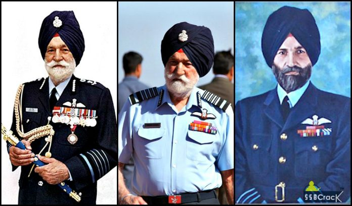 Marshal of Indian Air Force Arjan Singh