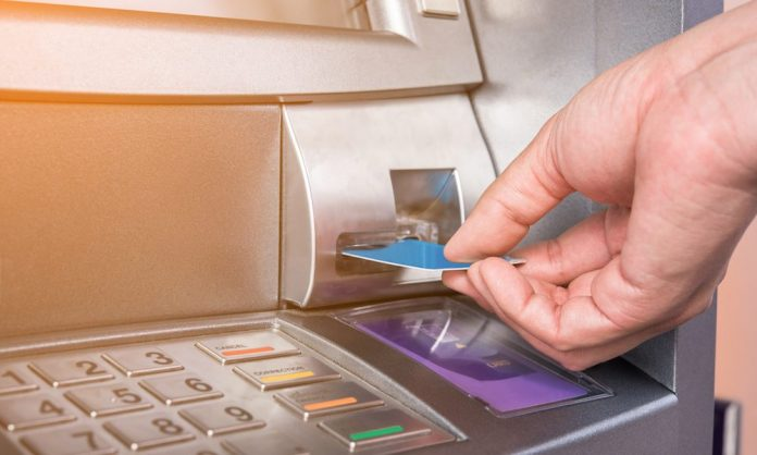 Robbers carry away ATM