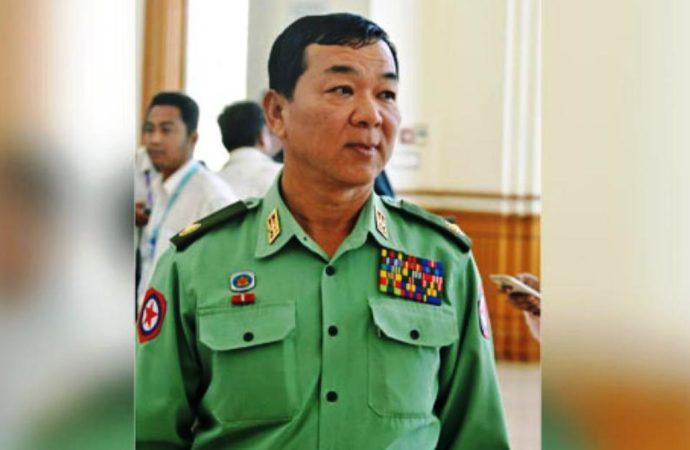 Sanctions hit Myanmar General Maung Maung Soe
