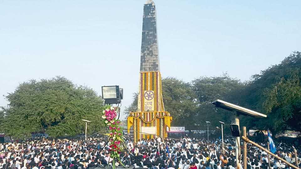 Bhima Koregaon memorial