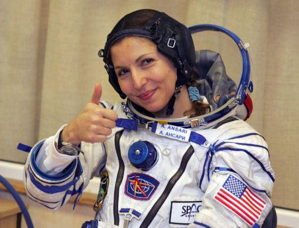Anousheh Ansari - Muslim women astronaut