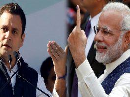 narendra modi - rahul gandhi