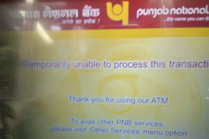 Cash crunch - atm's running dry
