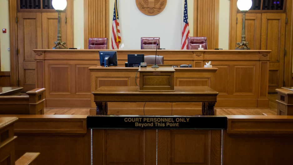 US Courtroom nta notice to appear
