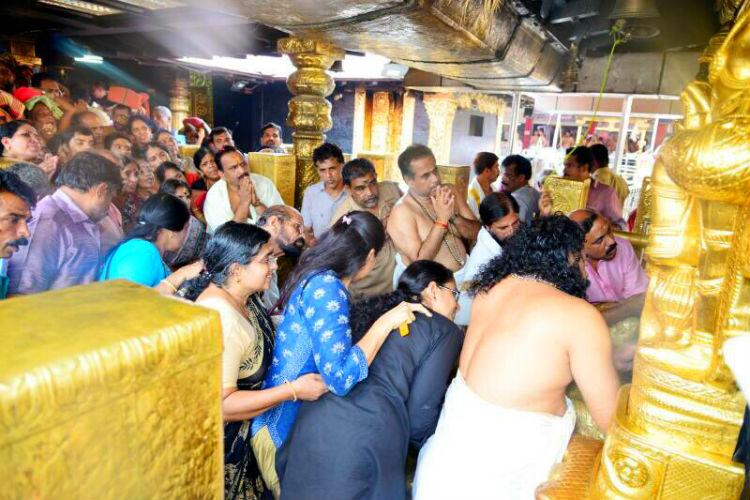 Sabarimala temple - women entry