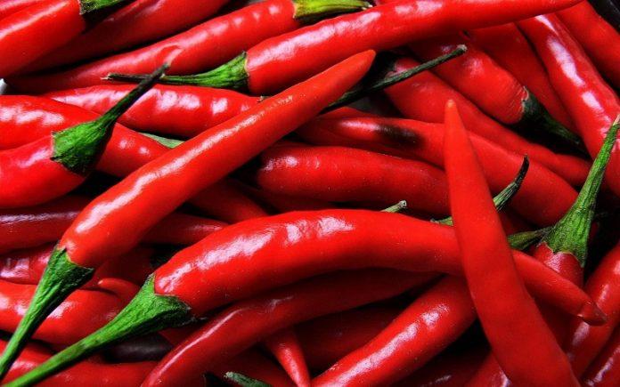 weight loss chilli pepper