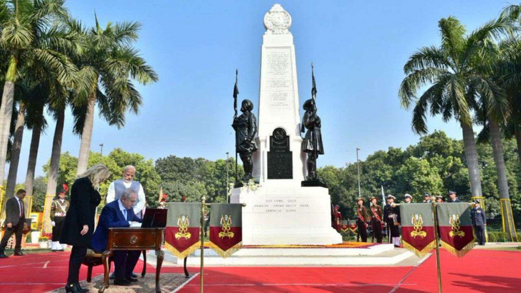 teen murti delhi renamed haifa israel