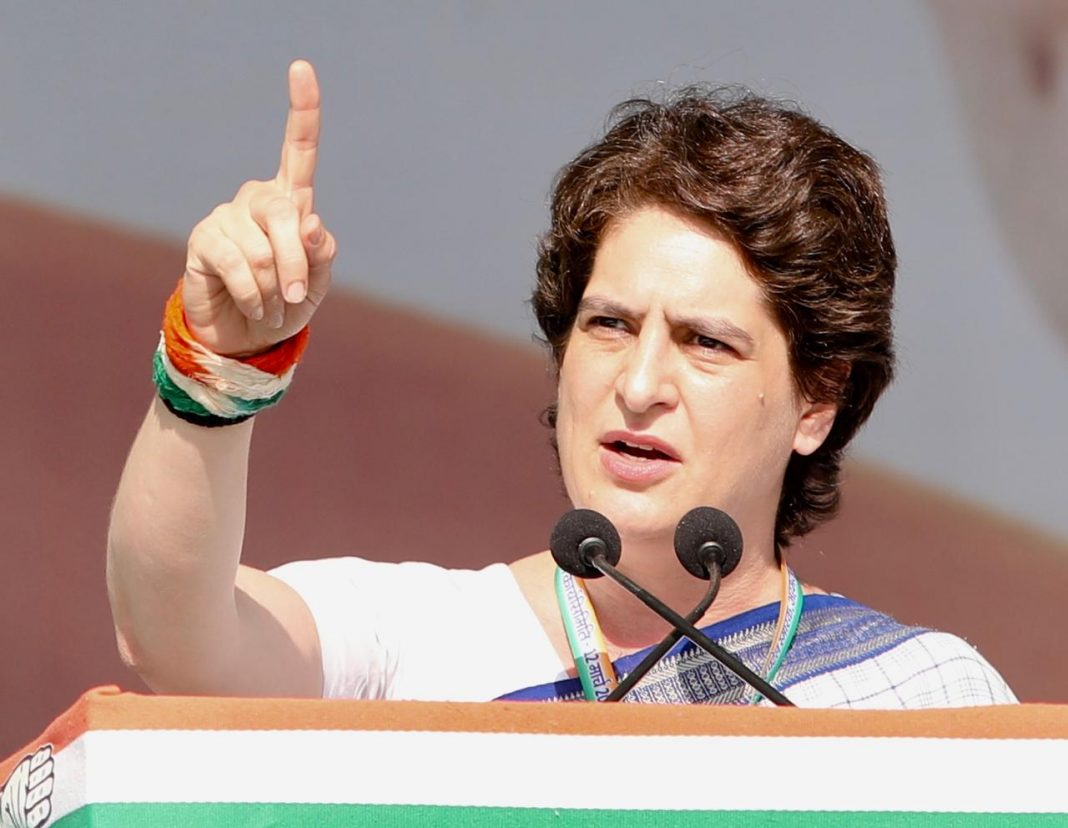priyanka gandhi vadra debut political speech