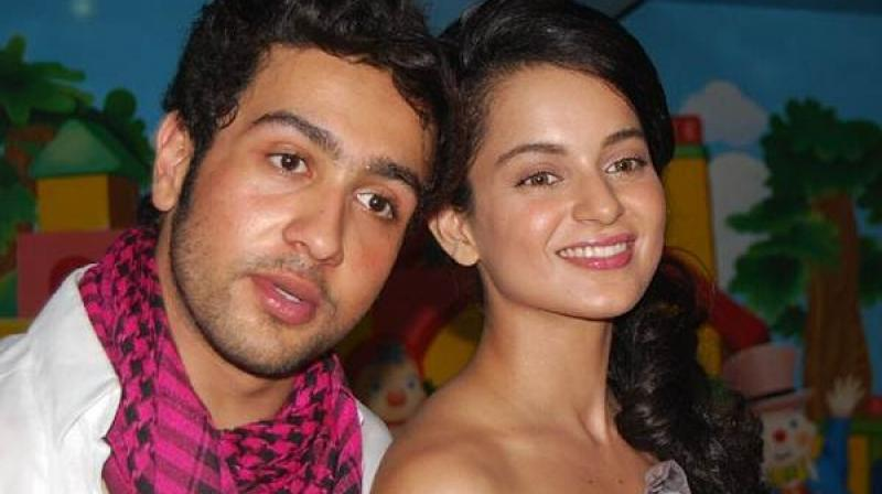 Kangana Ranaut and Adhyayan Suman
