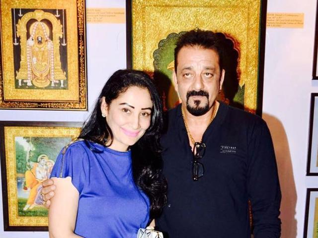 Sanjay dutt and maanyata - Most Romantic Bollywood Couples