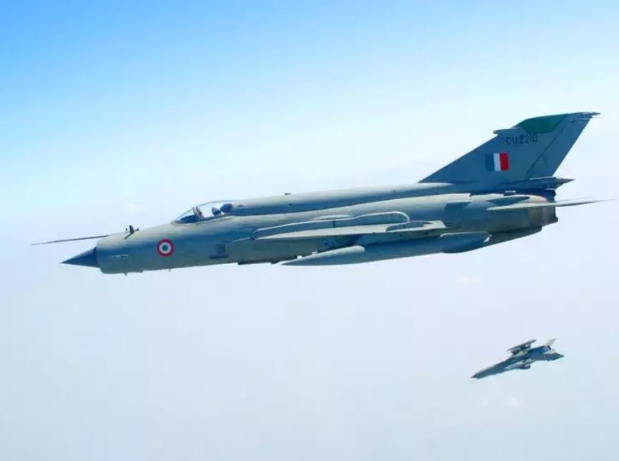 Indian Armed Forces - Mig 21 Bison Fighter Jet of Indian Air Force
