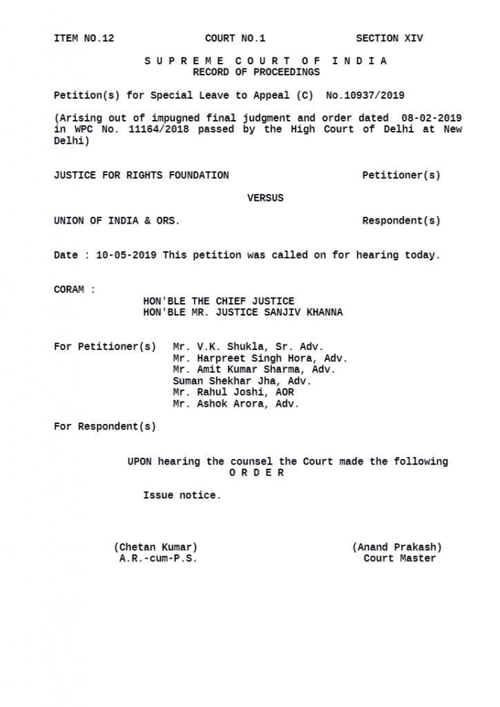 Indian Supreme Court Order - Netflix, Amazon
