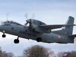 An 32 aircraft missing