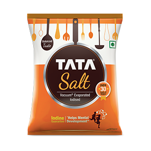Iodised Tata Salt - Prevent brain damage