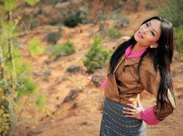 tshering yangki - bhutanese actress and model