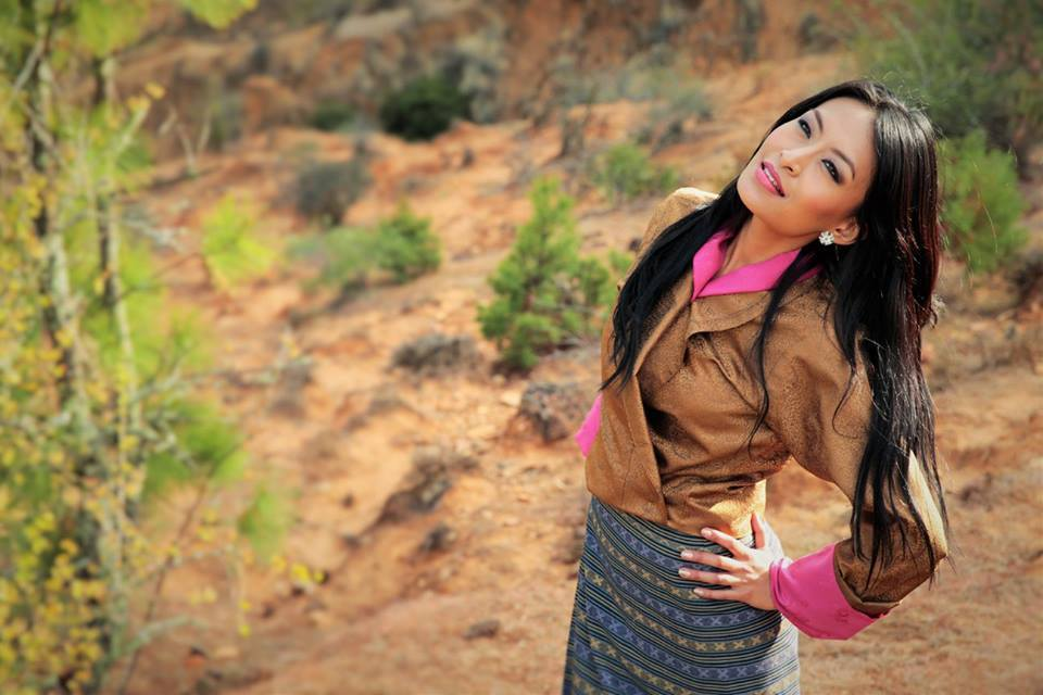 tshering yangki - bhutanese actress and model