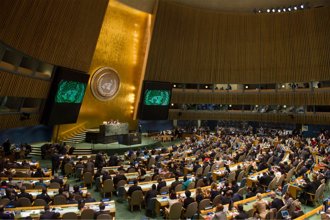UN General Assembly - Kashmir Issue