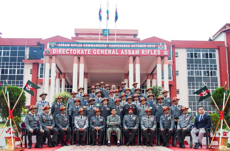 Assam Rifles - Commanders Conference (Pic credits: Twitter)