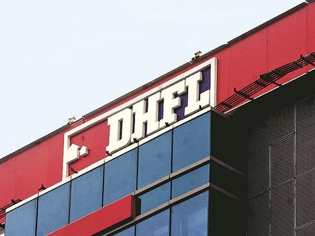 DHFL signboard