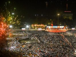 Swearing in ceremony of Uddhav Thackeray - Maha Vikas Aghadi