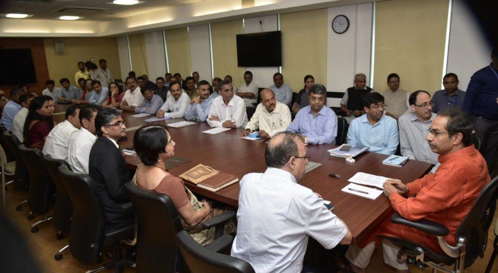 Uddhav Thackeray - Taking a Meeting