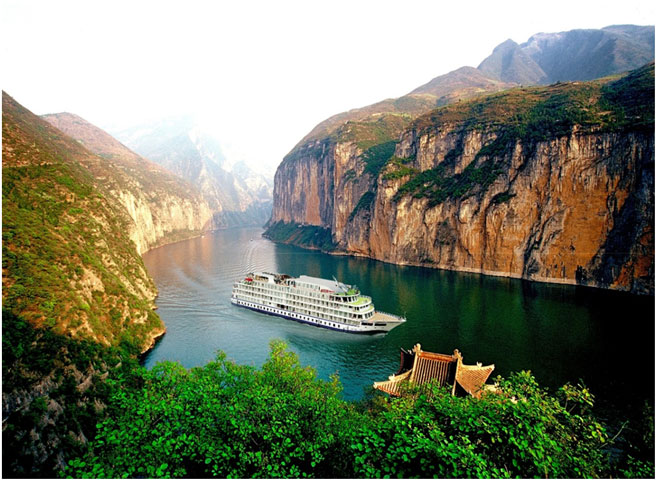 Yangtze River and Three Gorges - China