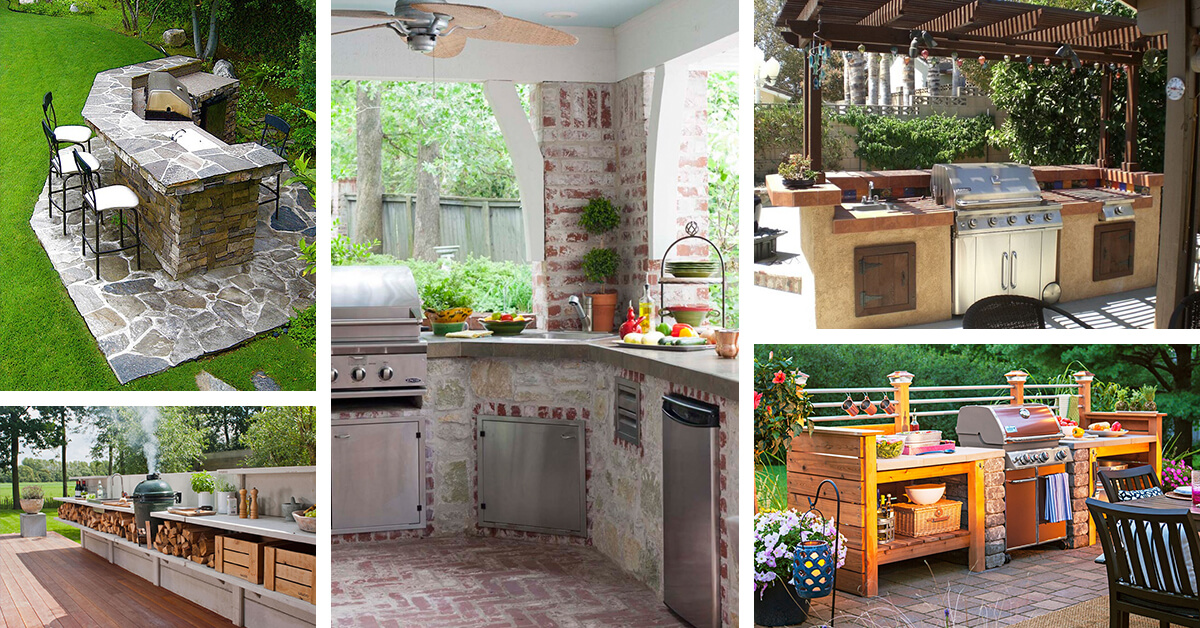 Outdoor kitchen designs and ideas