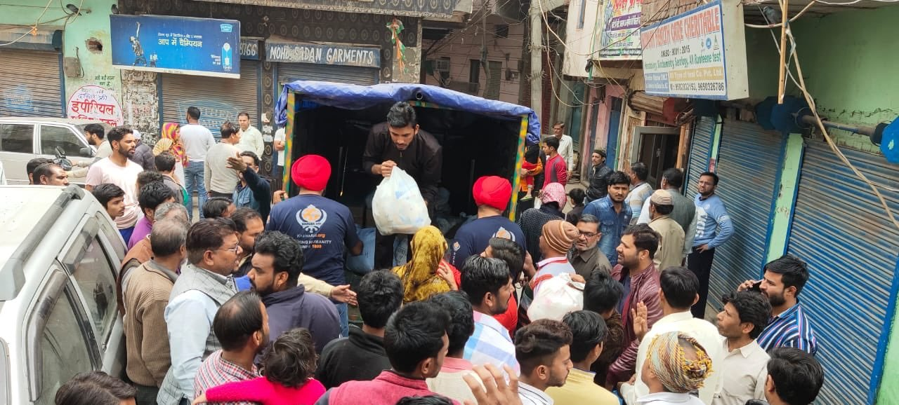 Khalsa aid workers - muslim sikh inter faith harmony
