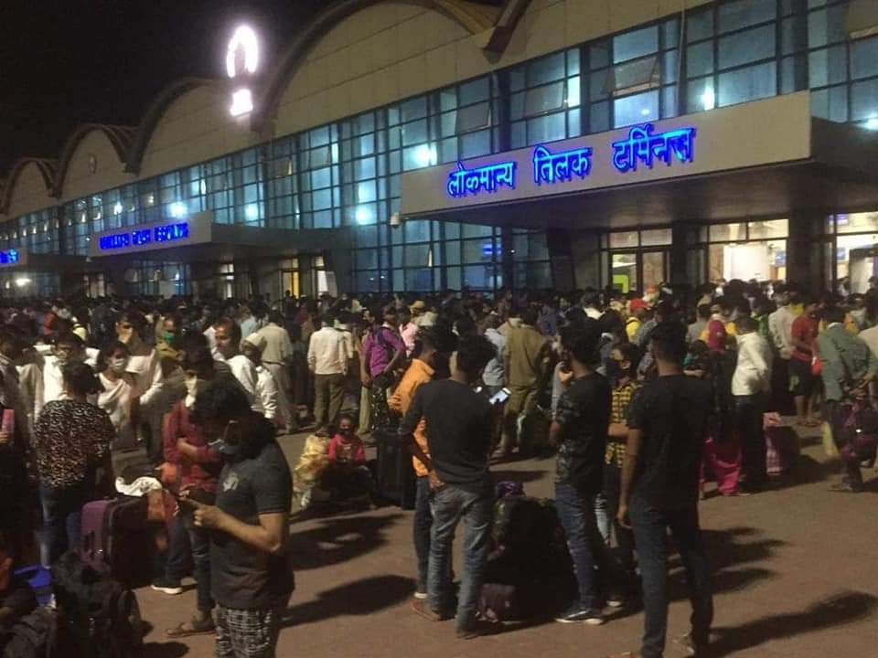 Inter state migrants leave mumbai after corona crisis lockdown
