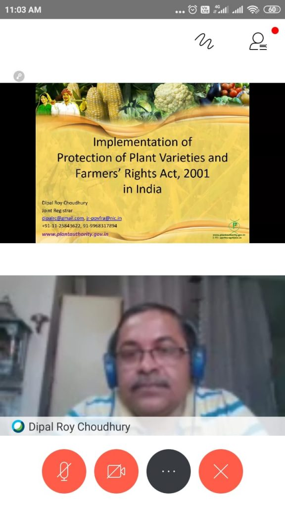 Webinar - Farmers Rights Act