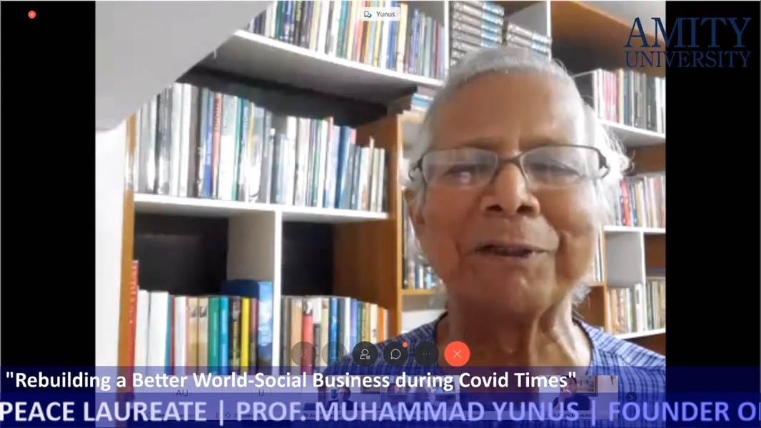 Nobel peace Laureate Prof Muhanmmad Yunus
