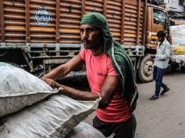 Indian labourer