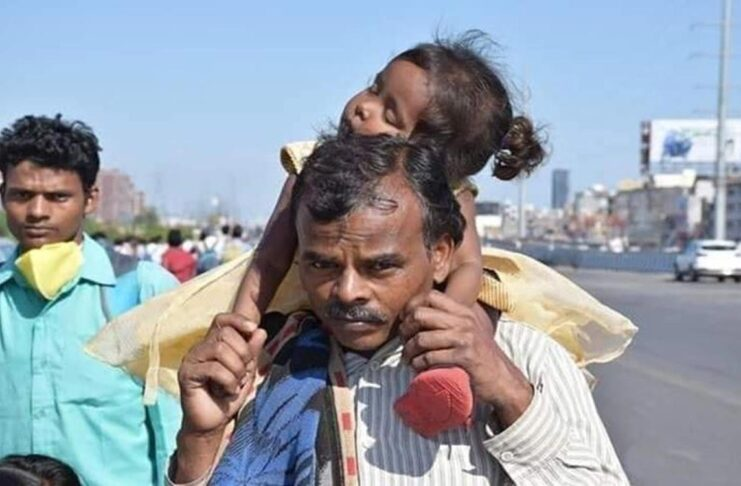 Indian migrant workers