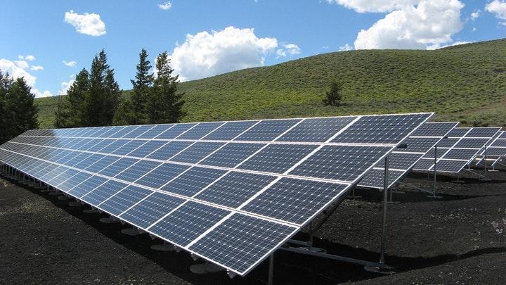 Solar gas fired generation - solar panels