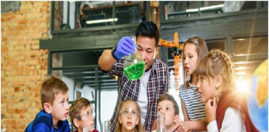 Building childs interest in science