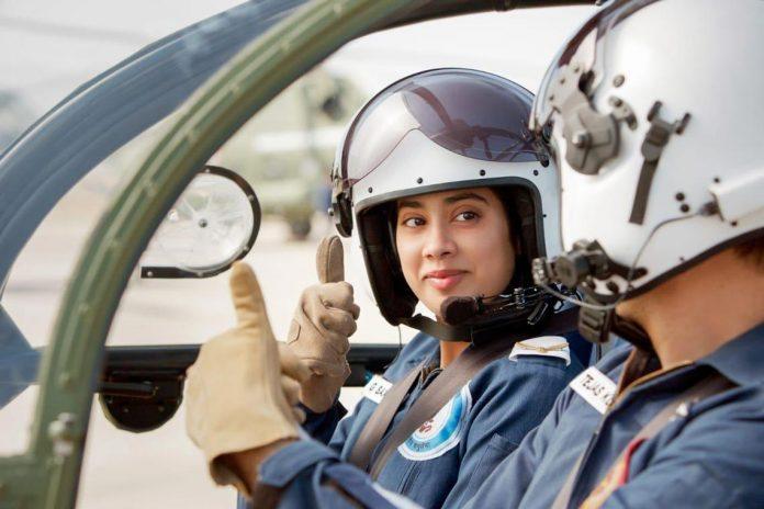 Flt Lt Gunjan Saxena - Kargil Girl