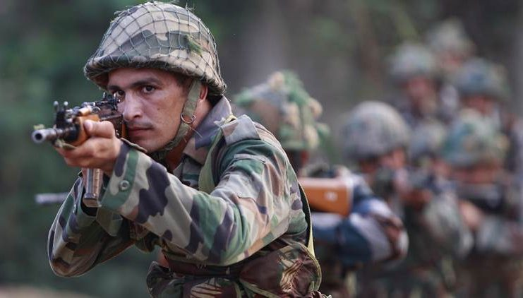 Indian Army Jawan - Killed in Action, Buried Under Rules